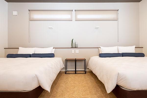 ベッドルームが2部屋