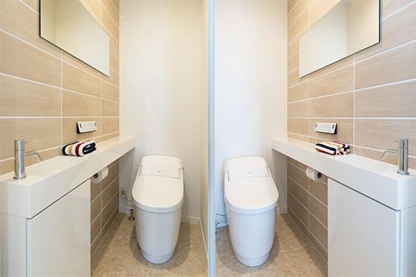 トイレを2つ設置