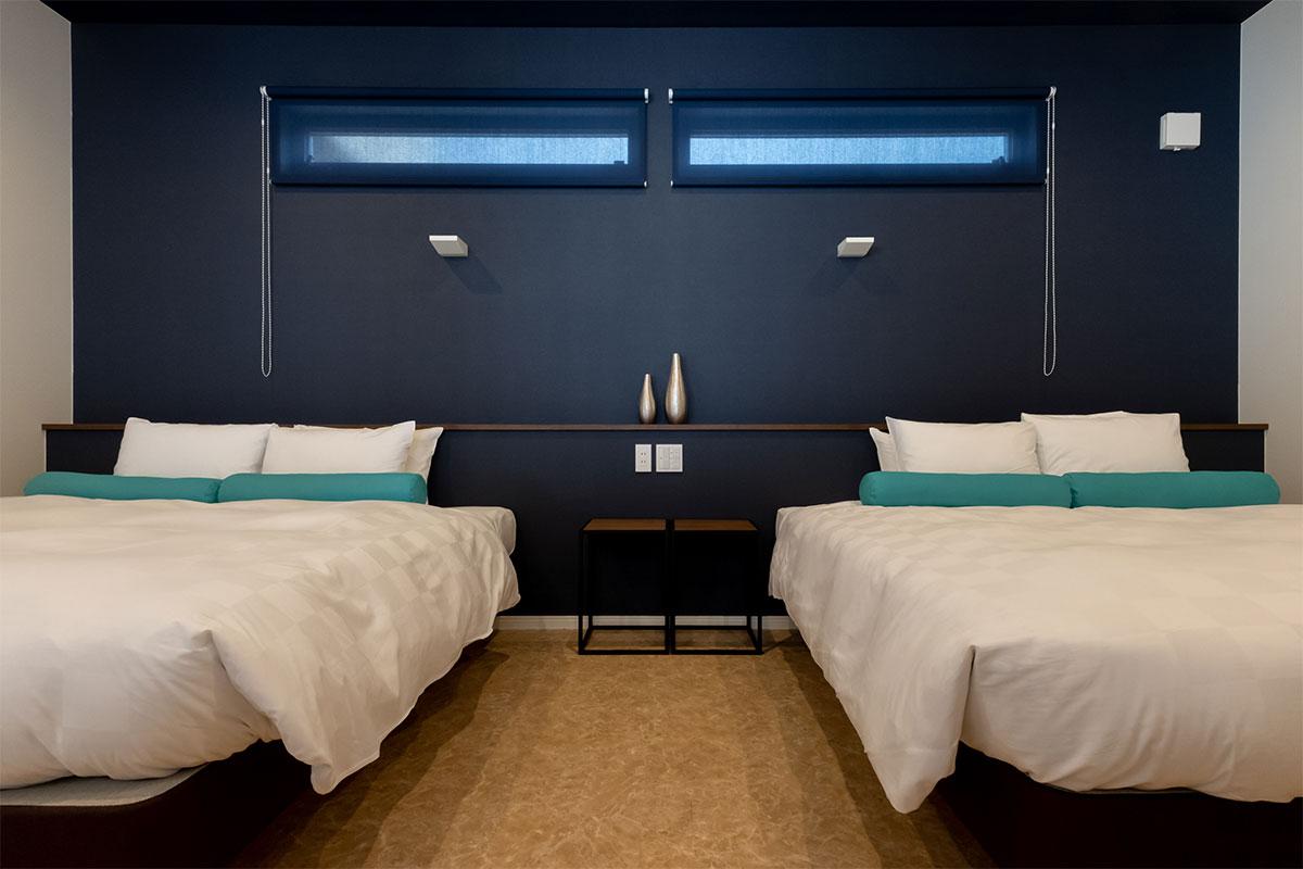 C棟:2ベッドルーム