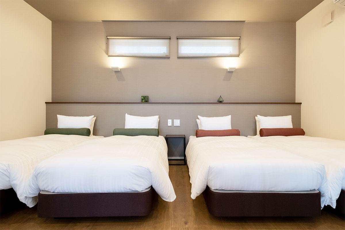 C棟:1ベッドルーム