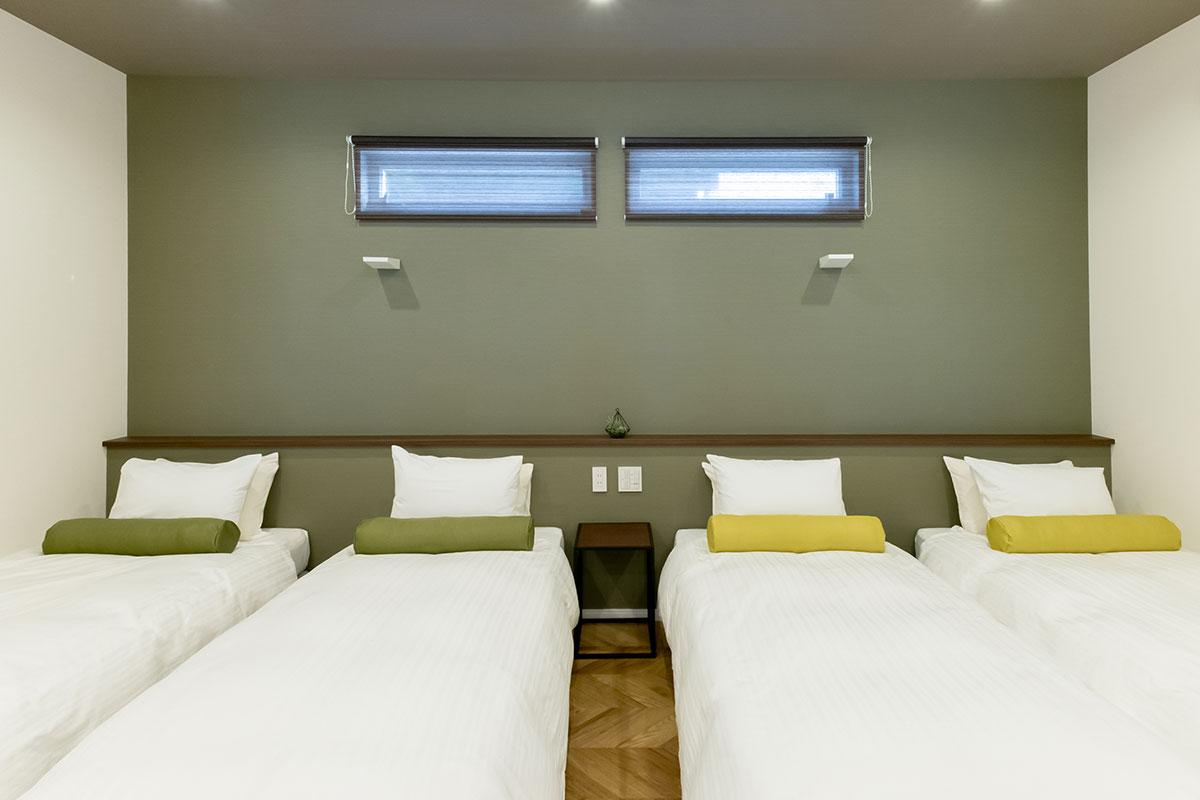 F棟:1ベッドルーム