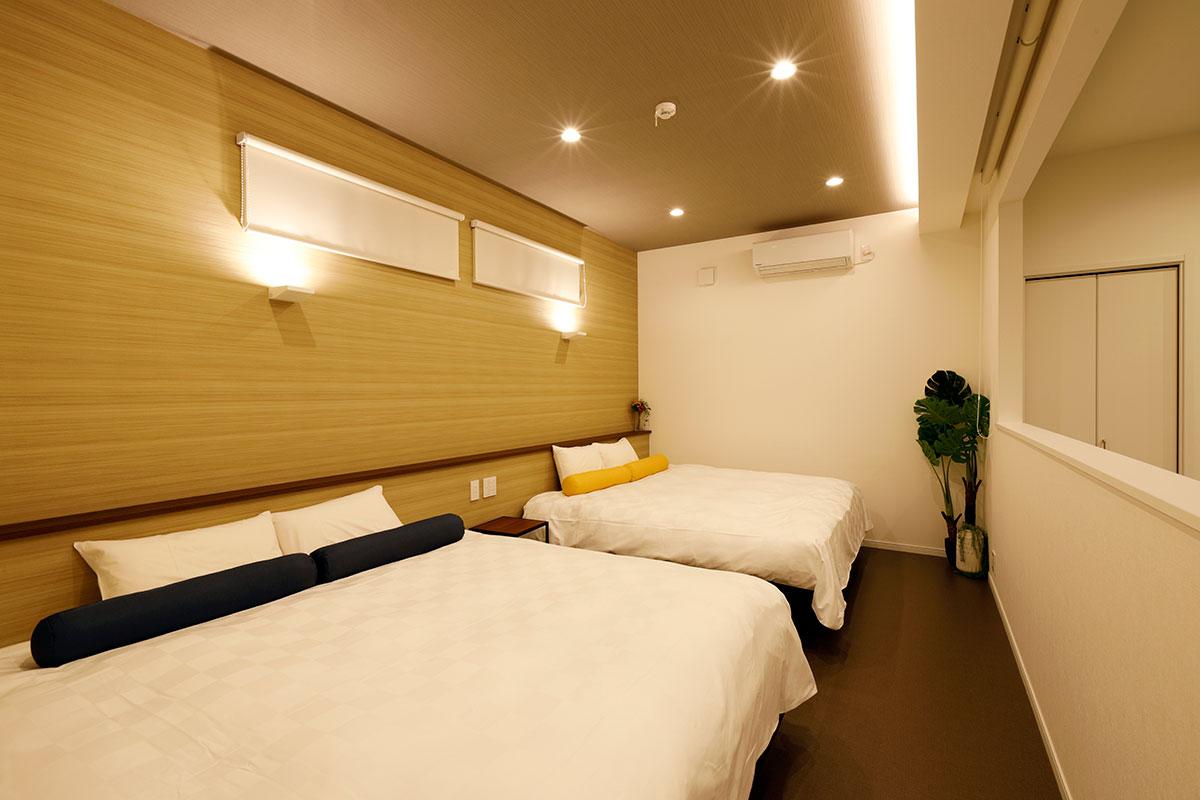 H棟:1ベッドルーム