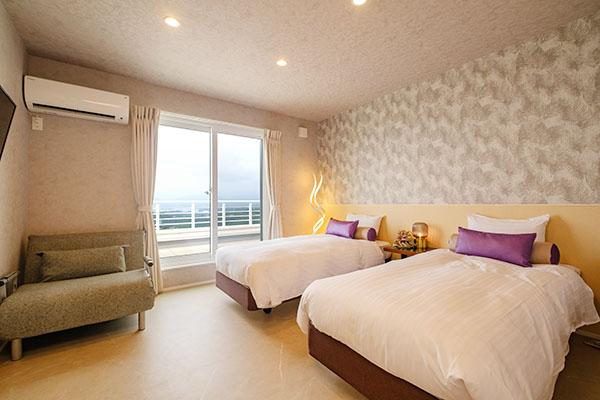 3部屋のベッドルーム